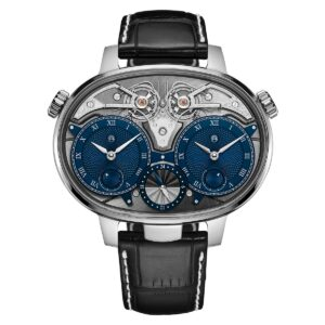 Dual Time Resonance Manufacture Edition White Gold