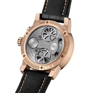 Mirrored Force Resonance Manufacture Edition Black Gold